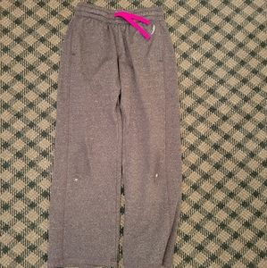 5/$10 Girls 7/8 Small Exertek Sweatpants Grey